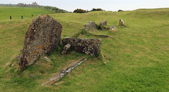 Torrylin burial Cairn on Arran (Dave Russell (1 million views thanks)) Tags: burial place torrylin cairn pre historic cemetery isle island arran clyde west western scotland scot scottish travel tourism monument ancient arrain eilean ecosse