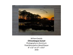 """Chincoteague Sunset • <a style=""""font-size:0.8em;"""" href=""""https://www.flickr.com/photos/124378531@N04/27777185167/"""" target=""""_blank"""">View on Flickr</a>"""