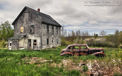 The Old Pontiac III (sminky_pinky100 (In and Out)) Tags: abandonedhouse abandonedcar classiccar pontiac ruraldecay vehicle car novascotia travel tourism outside outdoors rural rustic rusty decay decaying home old atlanticcanada annapolisvalley landscape scenic maritimes omot cans2s