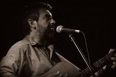 Alex Kid Gariazzo (fotomie2009) Tags: music musica live livemusic portrait ritratto raindogshouse savona concert concerto alex kid gariazzo chitarra chitarrista sepia monochrome monocromo