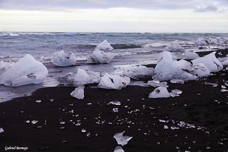 La playa donde van a morir los diamantes - Islandia