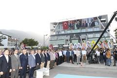 Dışişleri Bakanımız Sayın Mevlüt Çavuşoğlu ile #Finike Adalet Sarayı'nın açılışını gerçekleştirdik.  Finike'mize hayırlı olsun. (mkaraloglu) Tags: finike