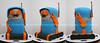 Movember Playmobil Robot (Tramie's Kitchen) Tags: cake fondant gumpaste