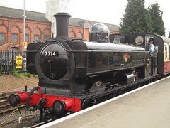 IMG_8982 - GWR 5700 Class Pannier Tank 7714 (SVREnthusiast) Tags: severnvalleyrailway svr severnvalley severn valley railway gwr5700classpanniertank7714 gwr 5700class panniertank 7714