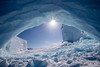 Iceberg Arch (Tony Costa (eTravelPhotos)) Tags: northamerica baffinisland nunavut canada arctic qikiqtarjuaq ca hdr iceberg arch sun starburst