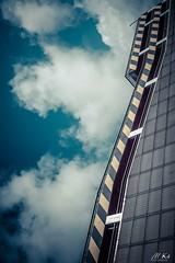 Le_Havre_0917-234 (Mich.Ka) Tags: normandie abstract abstrait architecture bâtiment ciel cloud docksvauban graphic graphique industrialdesign industriel lehavre ligne line nuage parking seinemaritime sky