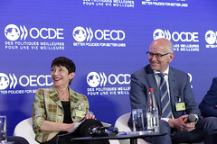 Session: The Future of Work: HOW? Session: The Future of Work: HOW? (Organisation for Economic Co-operation and Develop) Tags: oecd ocde forum 2018 paris ryanheath vandenbroek arnauddevigne ronniegoldberg thibaudsimphal lucavisentini stefanoscarpetta france fra