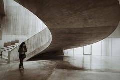 Tate modern stairway 2 (Alizarin Krimson) Tags: blackandwhite bnw sepia blackwhite tatemodern tate stairs stairway concrete london