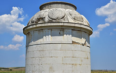 Leuktra 1 (orientalizing) Tags: 371bc archaia architecture boiotia clouds cylindrical desktop doric featured greece leuktra reconstruction shields spartanhumiliation thebanvictory victorymonument