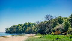 denmark beach #1 (marcuslange) Tags: landscape denmark dänemark landschaft beach strand landscapephotography zeiss planar50ze
