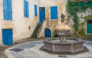 Montlucon   fountain