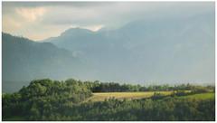 near La Mure (ernst.koeppel) Tags: france landschaft landscape mountins berge gebirge art gemälde mist fog nebel foggy lamure alpen alps hills