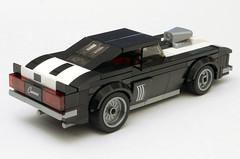 1969 Chevy Camaro Z28 - 75874 Set Mod (HotDogSandwiches) Tags: lego moc speed champions