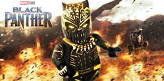 LEGO Black Panther : Killmonger Teaser (MGF Customs/Reviews) Tags: lego black panther killmonger wakanda chadwick boseman michael b jordan ryan coogler custom figure minifigure