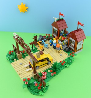 LEGO Summer camp part 1 : Arrival🚕 3/6