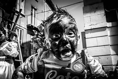 Untitled (Tommaso Antenucci) Tags: bnw be2 black white italy cry fear scream children street streetphotography fujifilm x100f