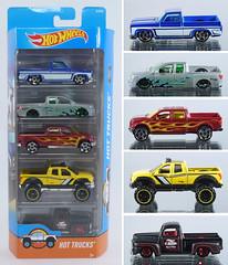 HOT-Trucks-Set (adrianz toyz) Tags: hot wheels diecast toy model pickup truck hottrucks malaysia set 2009 nissan titan chevrolet silverado ford f150 toyota tundra 49 f1 adrianztoyz