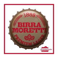 Birra Moretti (J.Gargallo) Tags: birra cerveza cerveja beer bier chapa macro macrofotografía marco framed canon canon450d eos eos450d 450d tokina tokina100mmf28atxprod