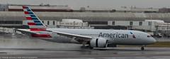 American Airlines 787 Dreamliner landing at LHR (Alaskan Dude) Tags: travel europe england london heathrow londonheathrow lhr airplane airplanes jets airlines airliners aviation planespotting planewatching