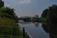 Sutton Weaver  100618 - DSC_0794 (Leslie Platt) Tags: exposureadjusted straightened cropped haltonboroughcouncil riverweaver weavernavigation suttonweaverswingbridge
