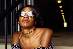 Ayesha CineStill 800 (ScottWarren86) Tags: pentax cinestill 800t film portrait 50mm 85b pentaxmesuper tungsten gossenlunapro gbyguess cinematography lips mixed