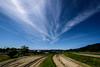 里山の初夏ーEarly summer of Satoyama (country side forest) (kurumaebi) Tags: yamaguchi 秋穂 山口市 nikon d750 nature landscape 田んぼ 田 cloud 雲 sky 空