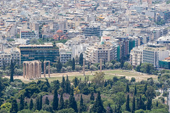 Temple of Olympian Zeus (ogmueller) Tags: stockcategories athens ruin historic church monument imagetype aerial architectural photospecs details events architecture greece wedding europe places temple athina decentralizedadministrationof decentralizedadministrationofattica