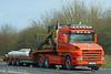 Scania 144L Kenny Blain L1 KCB (SR Photos Torksey) Tags: transport truck haulage hgv lorry lgv logistics freight traffic road commercial vehicle scania 144l kenny blain