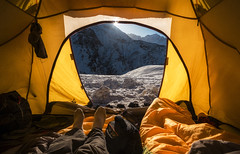 Camp Life (malhotraXtreme) Tags: himalayas trek roopkund india building infosys bangalore travel dslr mirrorless camera a6000 sony alpha slt landscape wide ens samyang 12mm 8mm fisheye