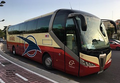 Scania K380 Noge Titanium - Buñol 137 (emilijoan) Tags: buñol 137 noge titanium scania valencia palau de la musica transvia grupotransvia