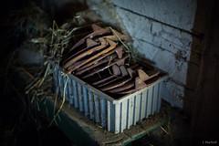 shoebox (Jen MacNeill) Tags: landisvalleymuseum lancaster pa horse shoe shoes old rusty