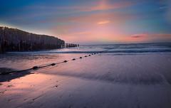 Jumierah beach sunset - Dubai (MoeenMustafa) Tags: dubai jumairah jumeirah beach sunset uae