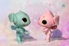 My little Alien Pollywogs (tadpoles) ~Coming Soon! (chartar_69) Tags: charlescreaturecabinet charlesstephan woda ohana stitch inspired comingsoon glowinthedarkresin