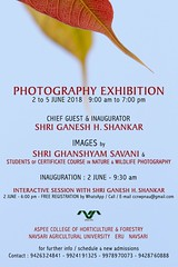 photography exhibition 2018 (nevil zaveri (thank U for 15M views:)) Tags: zaveri india plants trees nature photography photographer images photos blog wilderness stockimages photograph photographs gujarat gujrat course study agricultural college curricullum eru navsari placard banner advertisement nevil nau poster nevilzaveri stock photo 201718 students education ghanshyamsavani exhibition