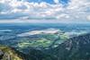 Der leere Forggensee vom Säuling (stefangruber82) Tags: alpen alps tirol tyrol lake see empty leer wolken clouds