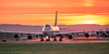 The Queen (Michael Swaja Photography) Tags: kpdx portland pdx international airport aviation aircraft airplane air airlines ups united postal service cargo jet civil civilian sun scenery sunset seasons sunshine color clouds