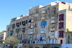 Colourful Valletta (Diskomuschel) Tags: malta valletta european capital culture 2018