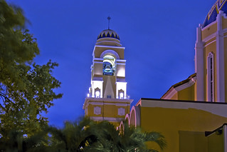 Cathedral of Saint Mary, 7525 NW 2nd Avenue, Miami, Florida, USA / Built: 1957 / Architectural Style: Spanish Colonial Revival / Denomination: Roman Catholic Church