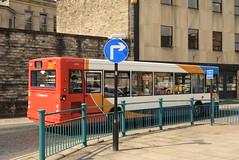 SCNL 34718 @ Lancaster bus station (ianjpoole) Tags: stagecoach cumbria north lancs alexander dennis adl pointer px05ekm 34178 working route 49 lancaster bus station lunesdale view halton