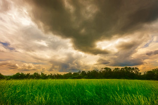 Storm Moving In Over the Hayfield Behind the House.jpg