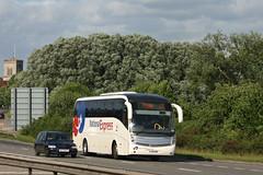 59205 - FJ56 OBR (Solenteer) Tags: nationalexpress yorkshiretraction 59205 fj56obr scania k340eb4 caetano levante ringwood
