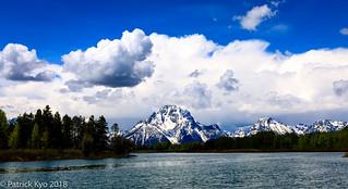 Mt. Moran and Snake River