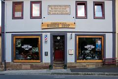 IMGP3364 Barber shop and motorbikes (Claudio e Lucia Images around the world) Tags: münnerstadt bayern munchen baviera germania germany barber shop bike motorbike pentax pentaxk4 pentax18135