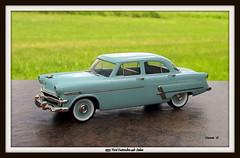 1953 Ford Customline 4dr Sedan (JCarnutz) Tags: 143scale diecast brooklin whitemetal 1953 ford customline