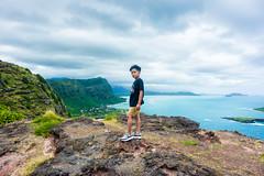 Naked Hawaii (JMSF415) Tags: jorgemorenojrphotography hawaii nakedhawaii hawaiilife hilife oahu sea ocean landscape sky mountains hiking boy roman nikon nikonphotography makapu'u kokocrater portrait explore
