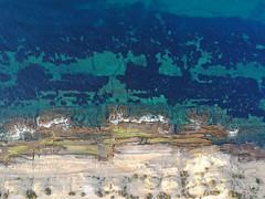 The Cool, Clear Water of Cabo de las Huertas by Drone (Fotomondeo) Tags: alicante alacant valencia spain españa cabodelashuertas aerialphotography drone djispark dji