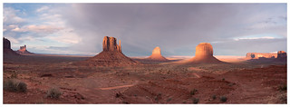 Almost Sunset in Monument Valley