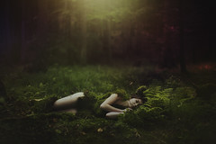 Leshy (foxphotopl) Tags: mitology slavic leshy fairytale tale story magic forest moss down body nature mother