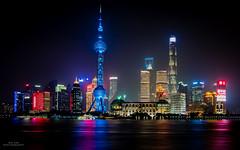 The Bund - Shanghai PuDong at Night (YL168) Tags: shanghai thebund pudong sony sonyflickraward orie shanghaitower shanghaiworldfinancialcenter orientalpearltower jinmaotower flickrunitedaward
