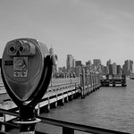 Voir New-York depuis Liberty Island (NYC USA) thumbnail